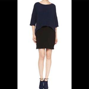 Derek Lam 10 Crosby two-layer drop shoulder dress